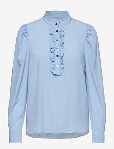 FQAPRIL-SH - langærmede bluser - chambray blue