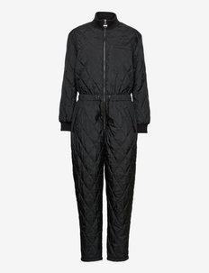 FQALL-JU-SOLID - pükskostüümid - black