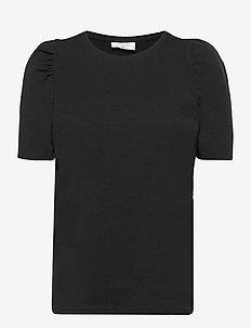 FQFENJA-TEE-PUFF - t-shirts - black