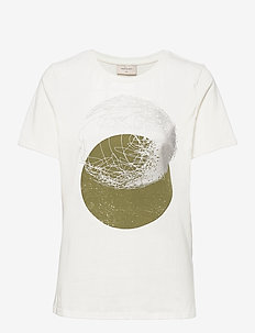 FQNOLA-TEE - t-shirts - offwhite mix