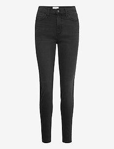 FQHARLOW-JE-BLACK - slim jeans - black