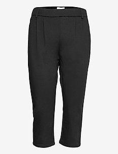 FQHEGEN-CA-POCKET - capri bukser - black