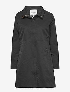 FQZIPPI-JA - cienkie płaszcze - black