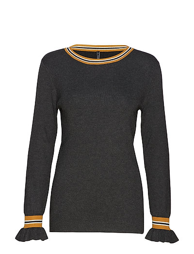 ANTONELLE-PU - CHARCOAL MEL. W. SPICED YELLOW