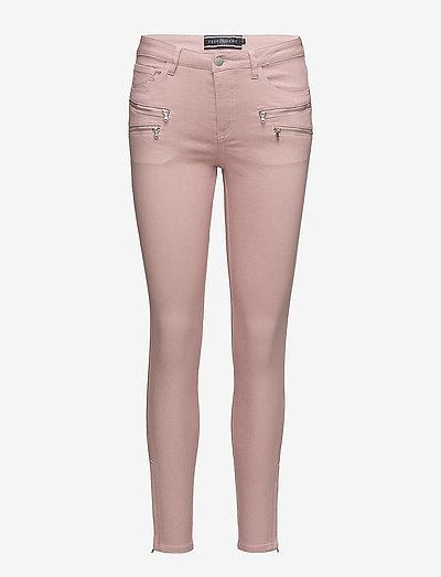 FQAIDA-PA-7/8 - pantalons slim - pale mauve 15-1607