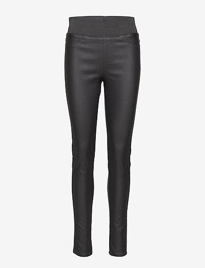 FQSHANTAL-PA-COOPER - pantalons en cuir - grey as molly
