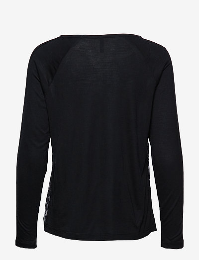 Free/quent Ginni-ls- T-shirty I Topy Black As Sample