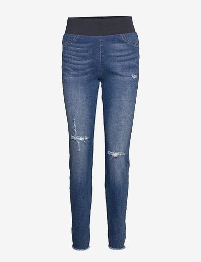 FQSHANTAL-PA-ANKLE-BROKEN - jeans slim - medium blue