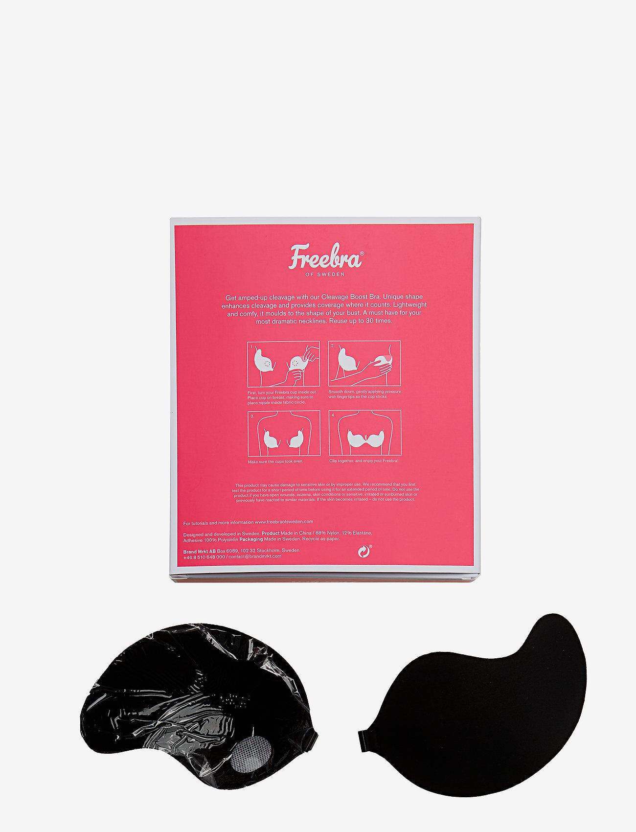 Freebra - CLEAVAGE BRA - bra accessories - black - 1