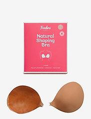Freebra - NAT SHAP BRA - bra accessories - tan - 0