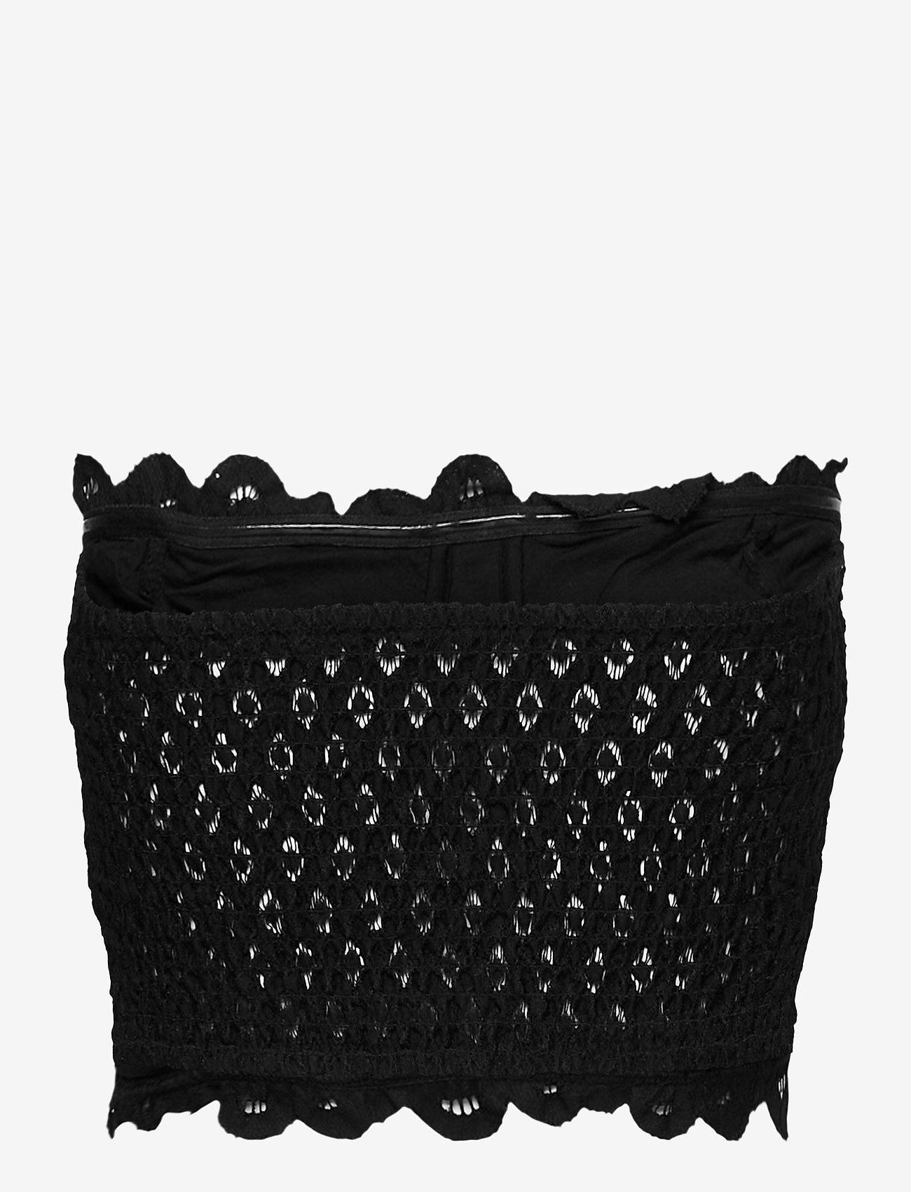 Freepeople - ADELLA CORSET BRA - non wired bras - black - 1