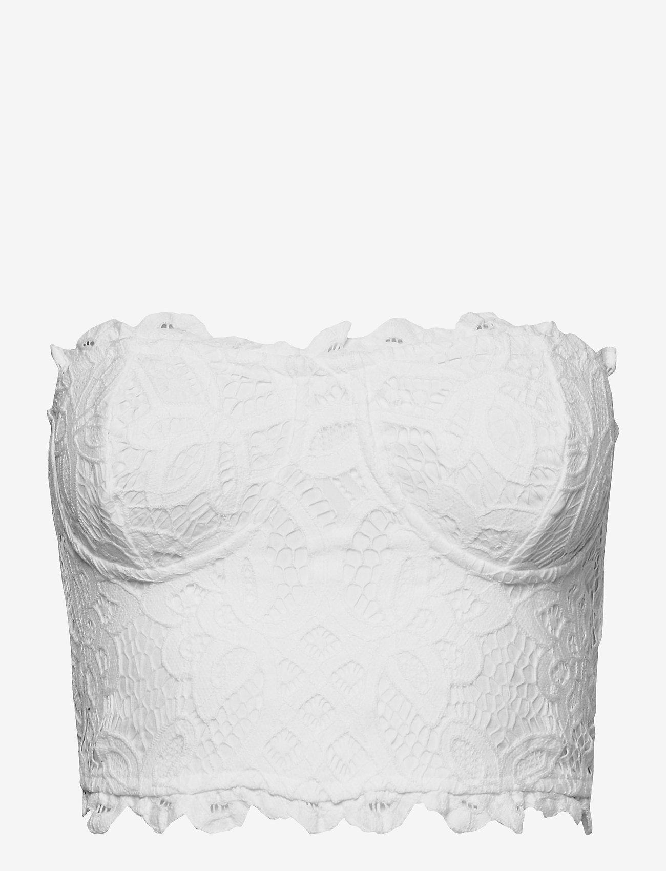 Freepeople - ADELLA CORSET BRA - non wired bras - white - 0
