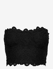Freepeople - ADELLA CORSET BRA - non wired bras - black - 0