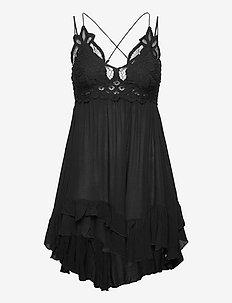 Adella Slip - chemises de nuit - black