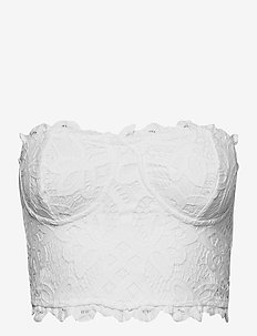ADELLA CORSET BRA - soutien-gorge souple - white