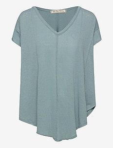 SAMMIE TEE - blouses à manches courtes - ocean day