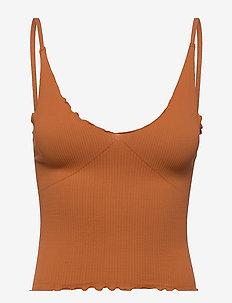 EASY TO LOVE SMLS CAMI - hauts sans manches - rust