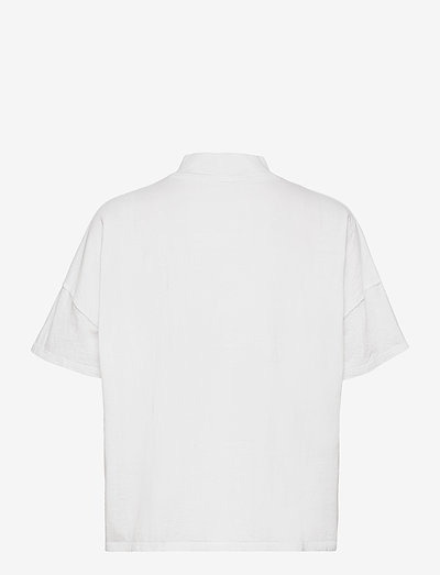 FEARLESS TEE - t-shirts - painted white