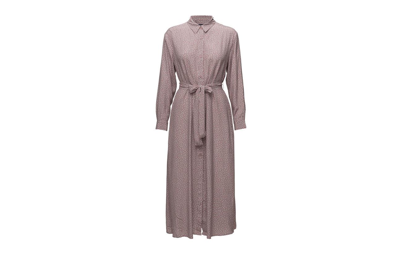 Viscose Dress Drape 60 Sleeve Rayonne Connection Elao French Teagown 40 Shirt Long BwzaWUq