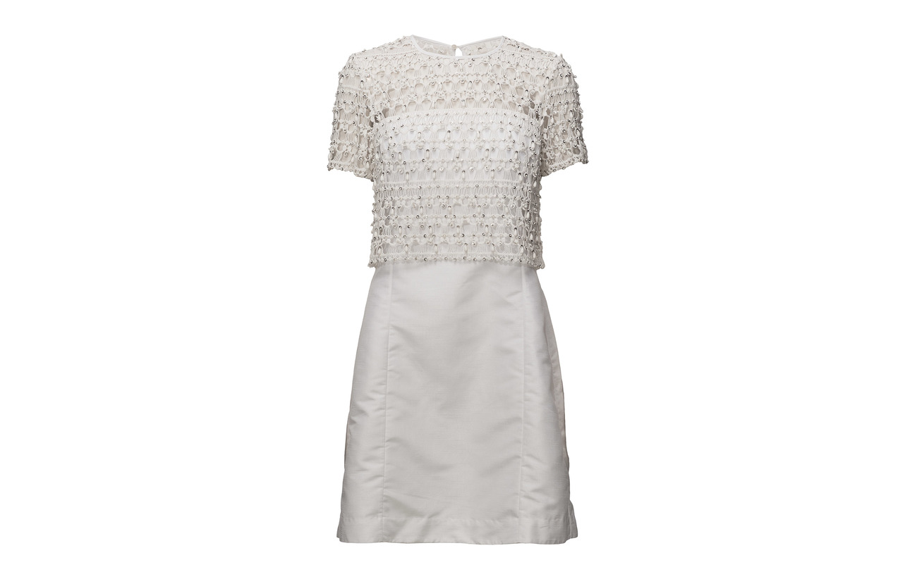 Sparkle Coton Embellished Connection 100 French White Dress Consenza Summer Wedding qPRxwEC