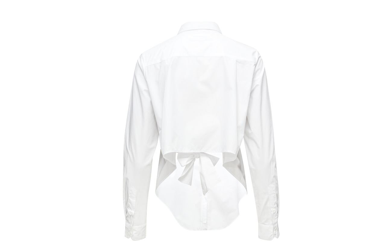 Shirt Southside Cotton Linen Coton Loose French Connection 100 White IgxRw1