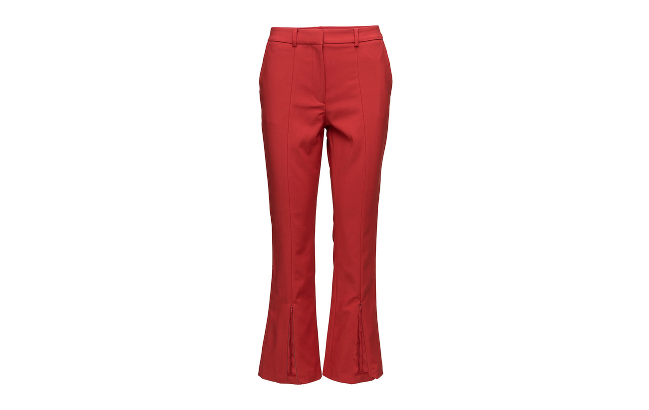 Red Elastane Connection 52 Polyester 45 Glass Coton 3 Stretch French Trouser Blazer w6PXOxxq