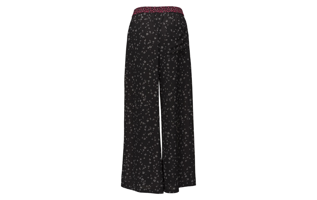 black Mimosa Connection Culottes Fluid 3 Aubine Elastane Polyester 97 French HaXqUw