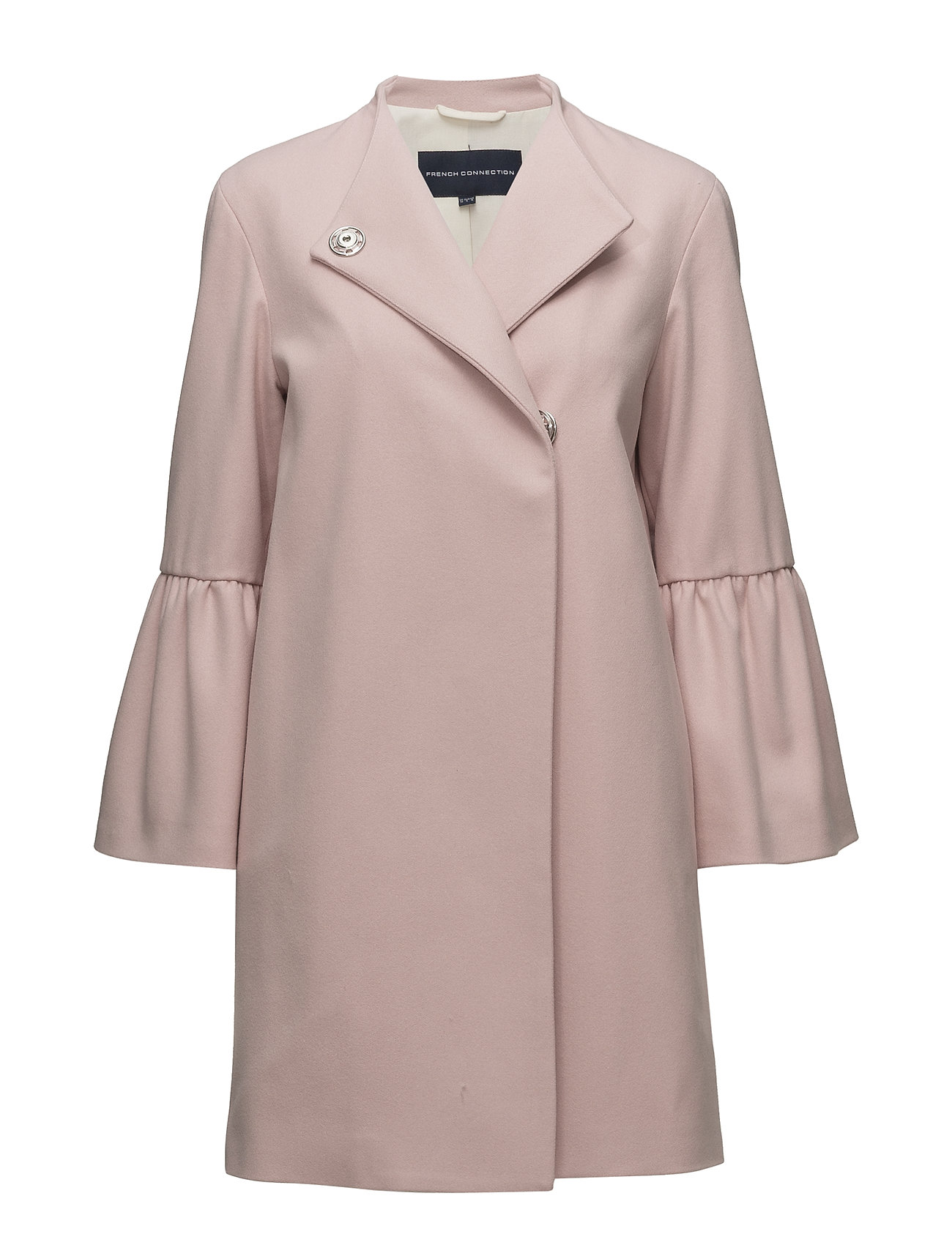 French Connection PLATFORM FELT BELL SLEEVE COAT - TEAGOWN