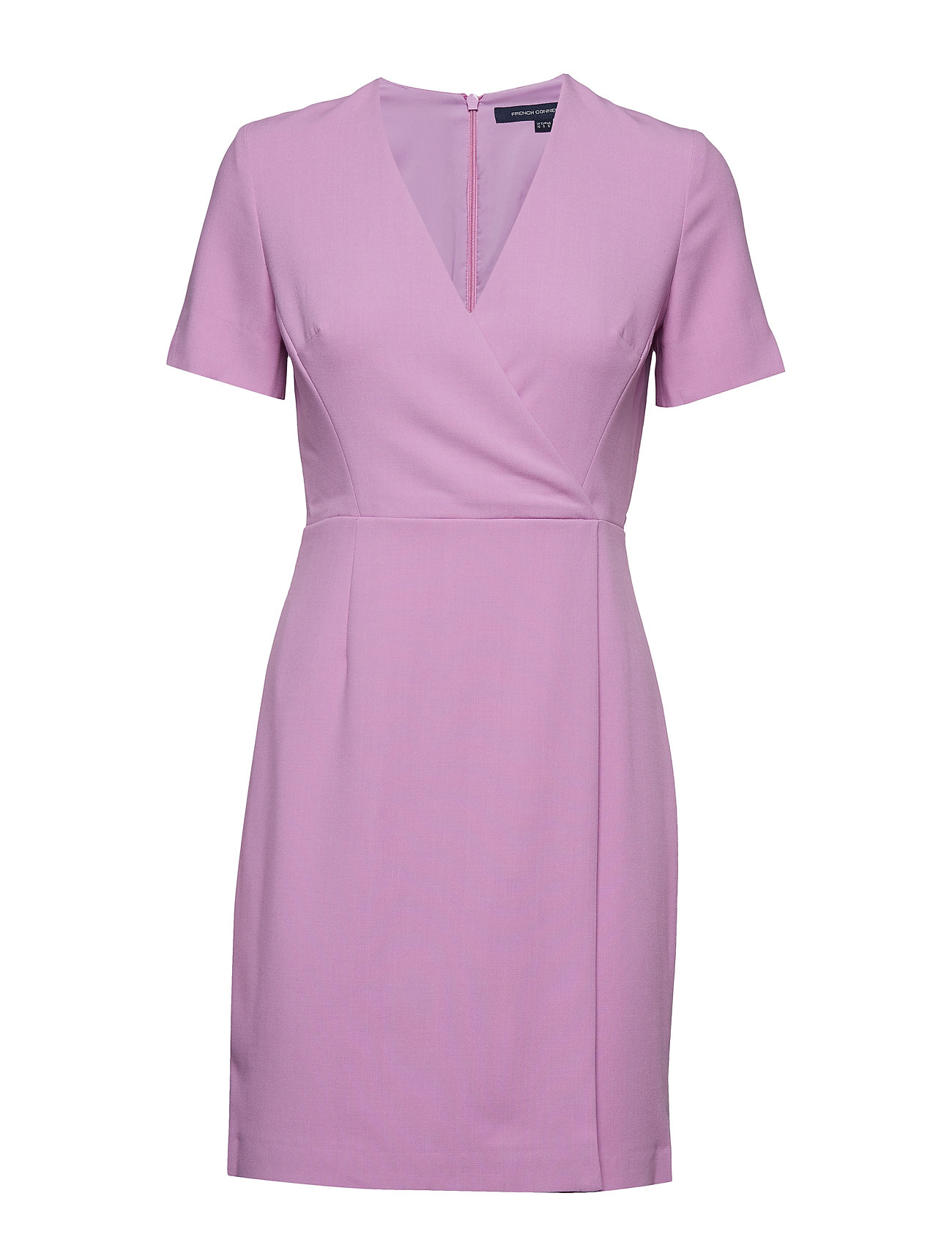 French Connection WHISPER RUTH SHORT SLEEVE WRAP DRESS - KYOTO BLOSSOM