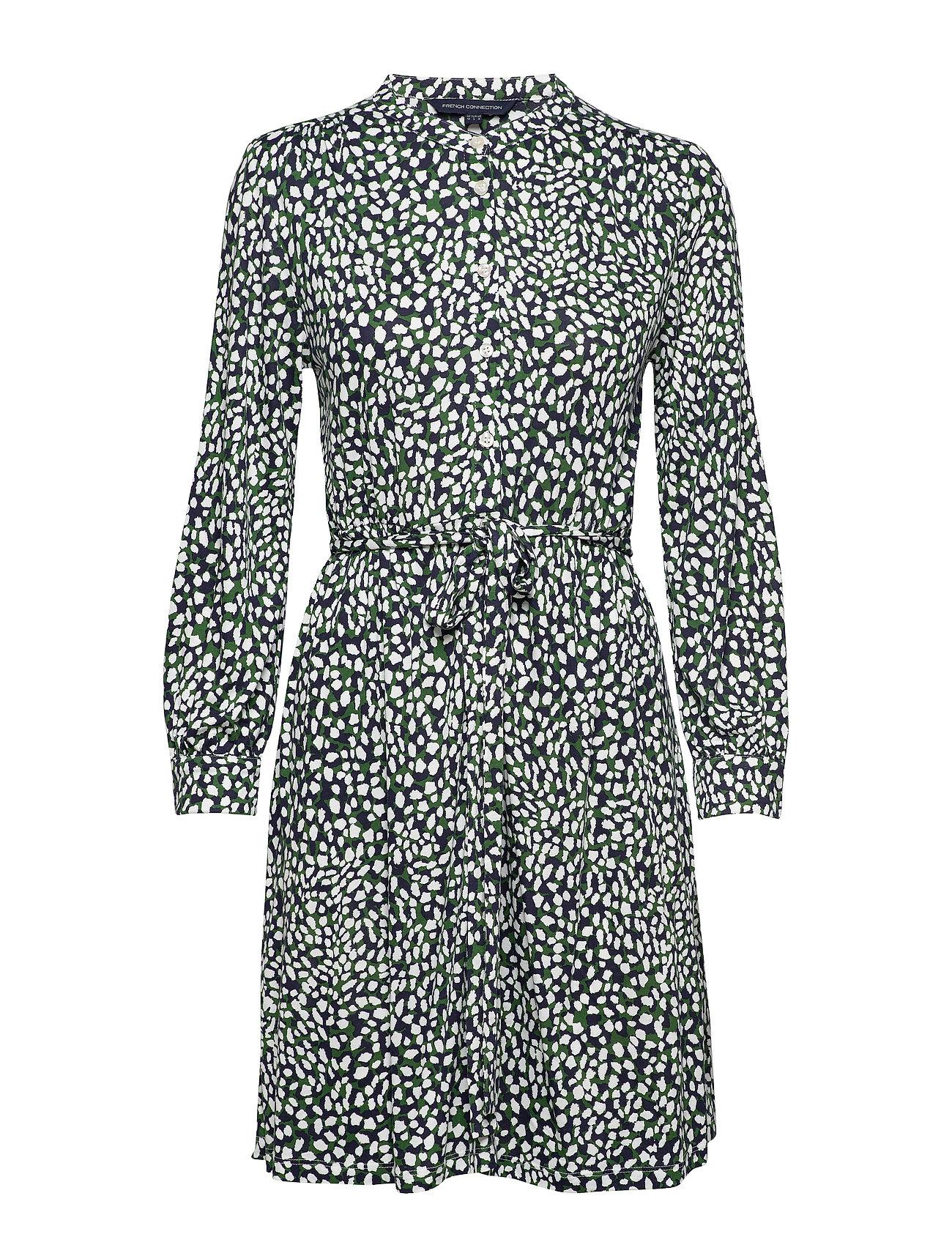 Image of Vasha Meadow Jersey Shirt Dres Knælang Kjole Multi/mønstret French Connection (3326811309)