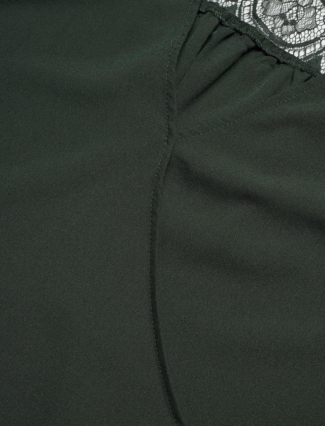 French Connection CREPE LGHT SLD LACE MIX V BACK - Bluzki & Koszule LAUREL - Kobiety Odzież.