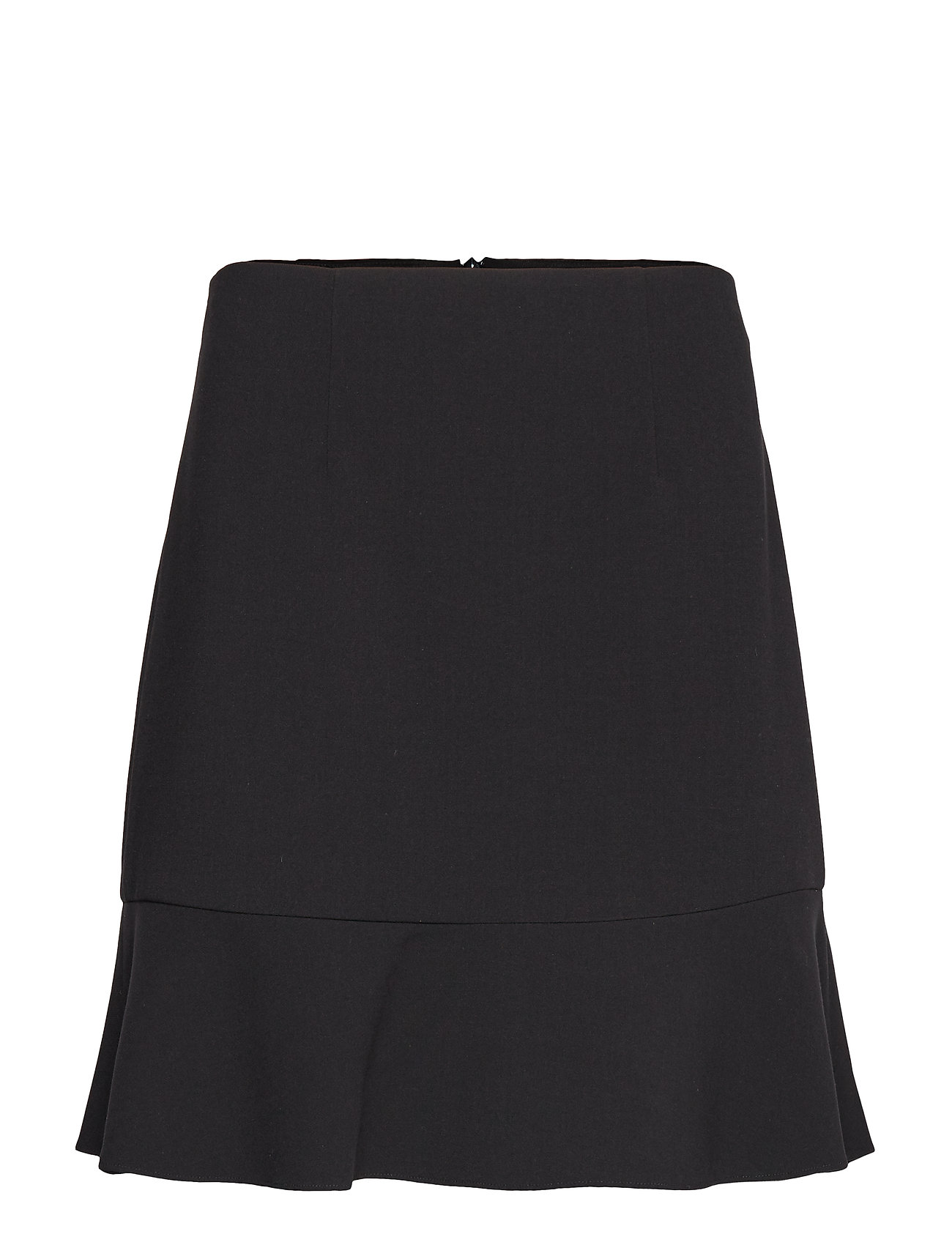 French Connection DOROTEA FLARE MINI SKIRT - BLACK