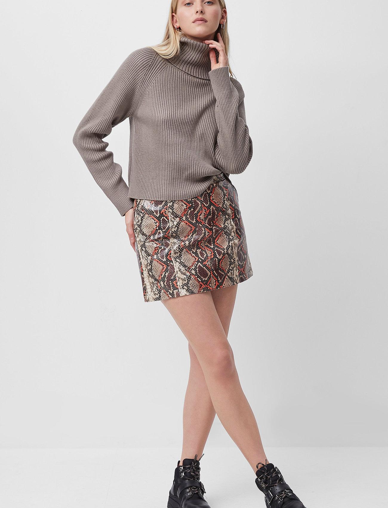 French Connection - BONNIE PU SKIRT - korta kjolar - neutral - 0