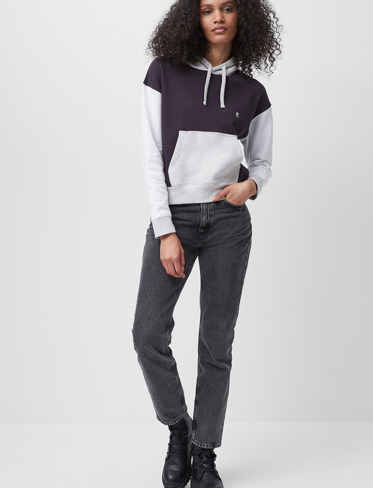 French Connection - PANDORAH ORD DEN CIGRETTE JEAN - slim jeans - washed grey - 0