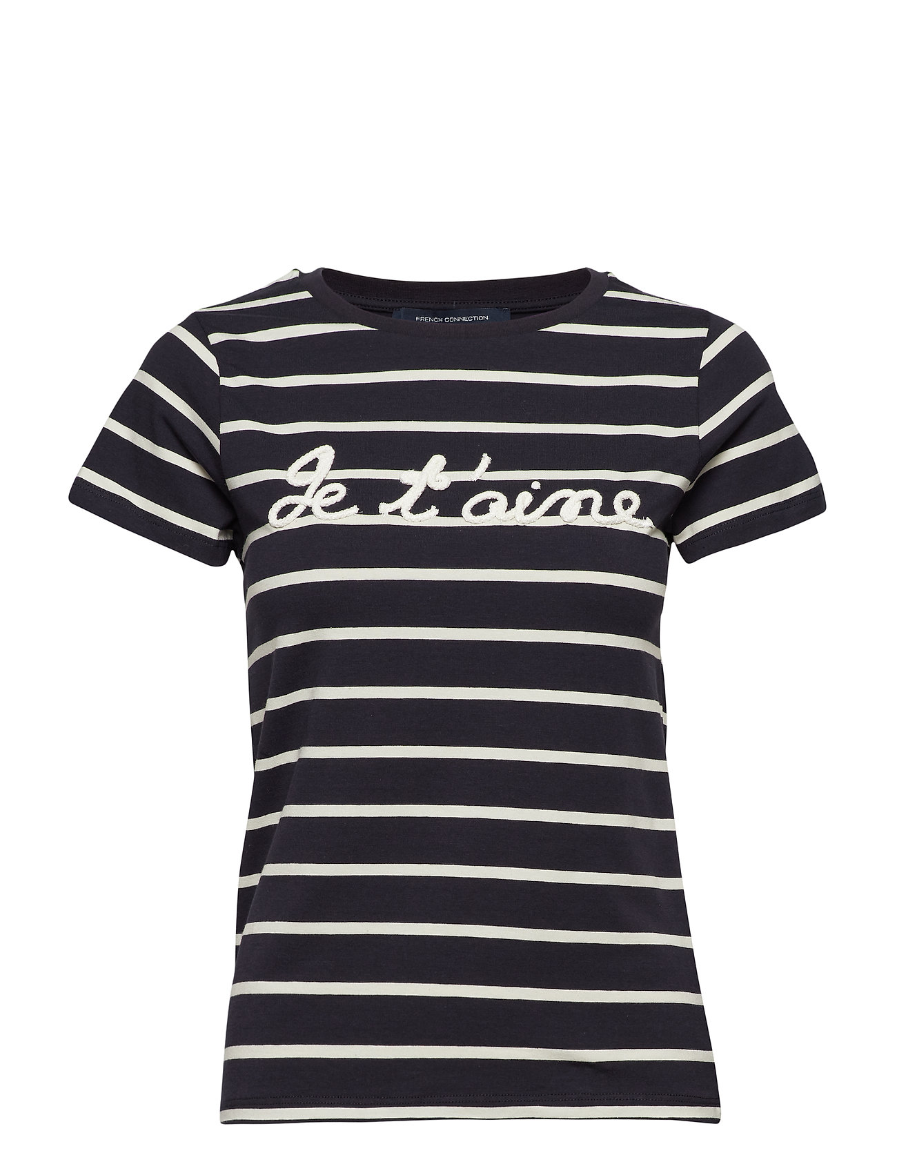 French Connection TIM TIM FRANCAIS SHORT SLEEVE ROPE TEE