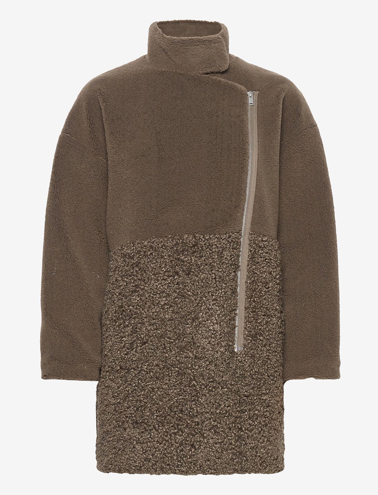 French Connection - IRENEA FAUX FUR COAT - faux fur - loden green - 1