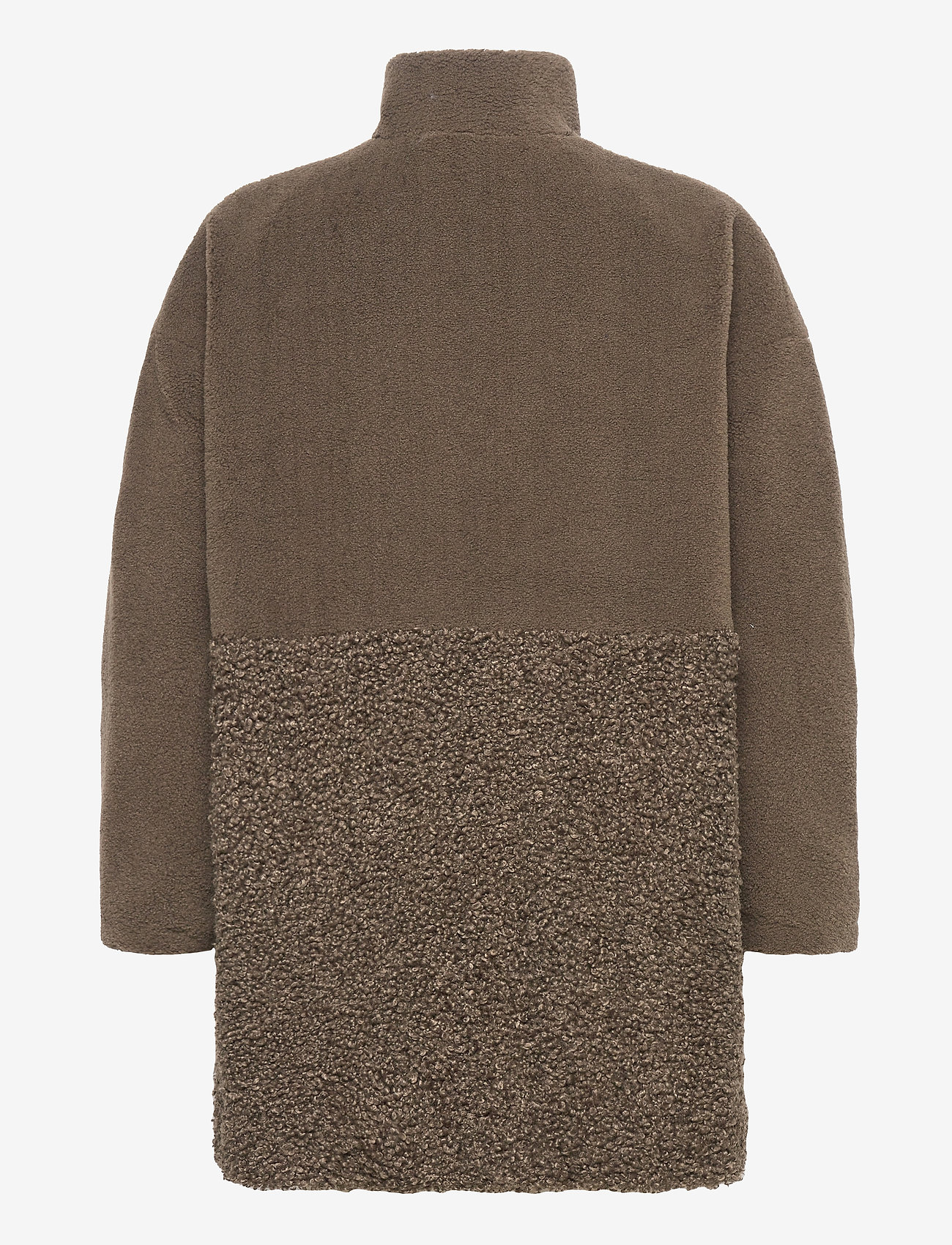 Irenea Faux Fur Coat (Loden Green) (255 €) - French Connection bLnSY