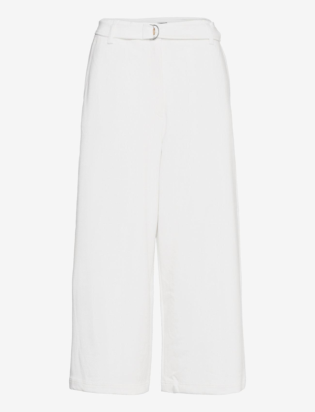French Connection - INDI WHISPER RUTH STNG CULOTTS - bukser med brede ben - summer white - 0