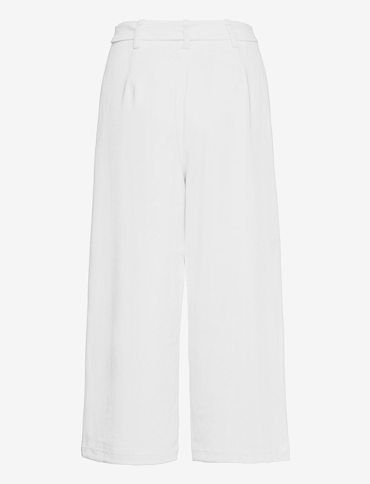 French Connection - INDI WHISPER RUTH STNG CULOTTS - bukser med brede ben - summer white - 1