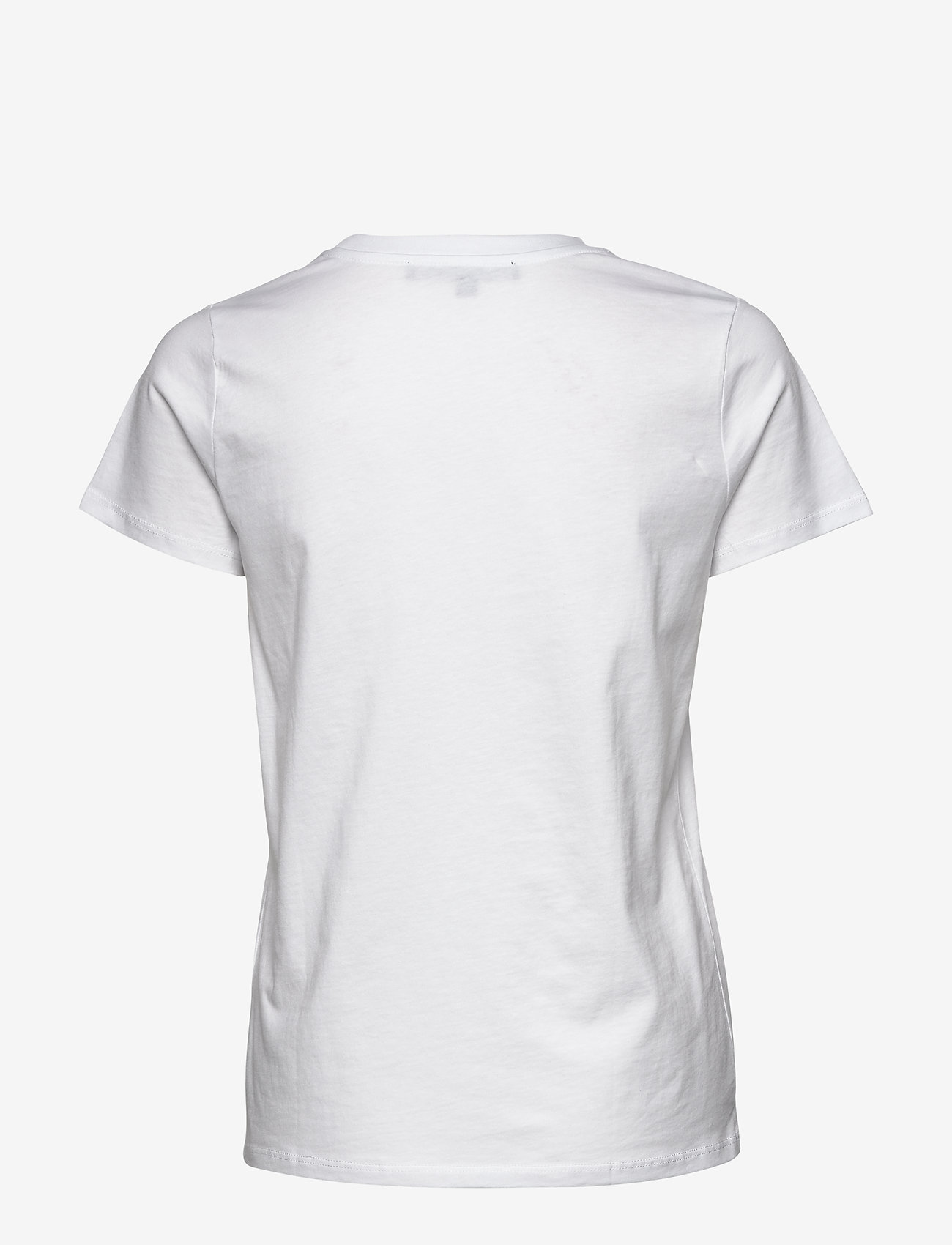French Connection LE FRENCHIE SHORT SLEEVE TEE - T-shirts & Tops WHITE