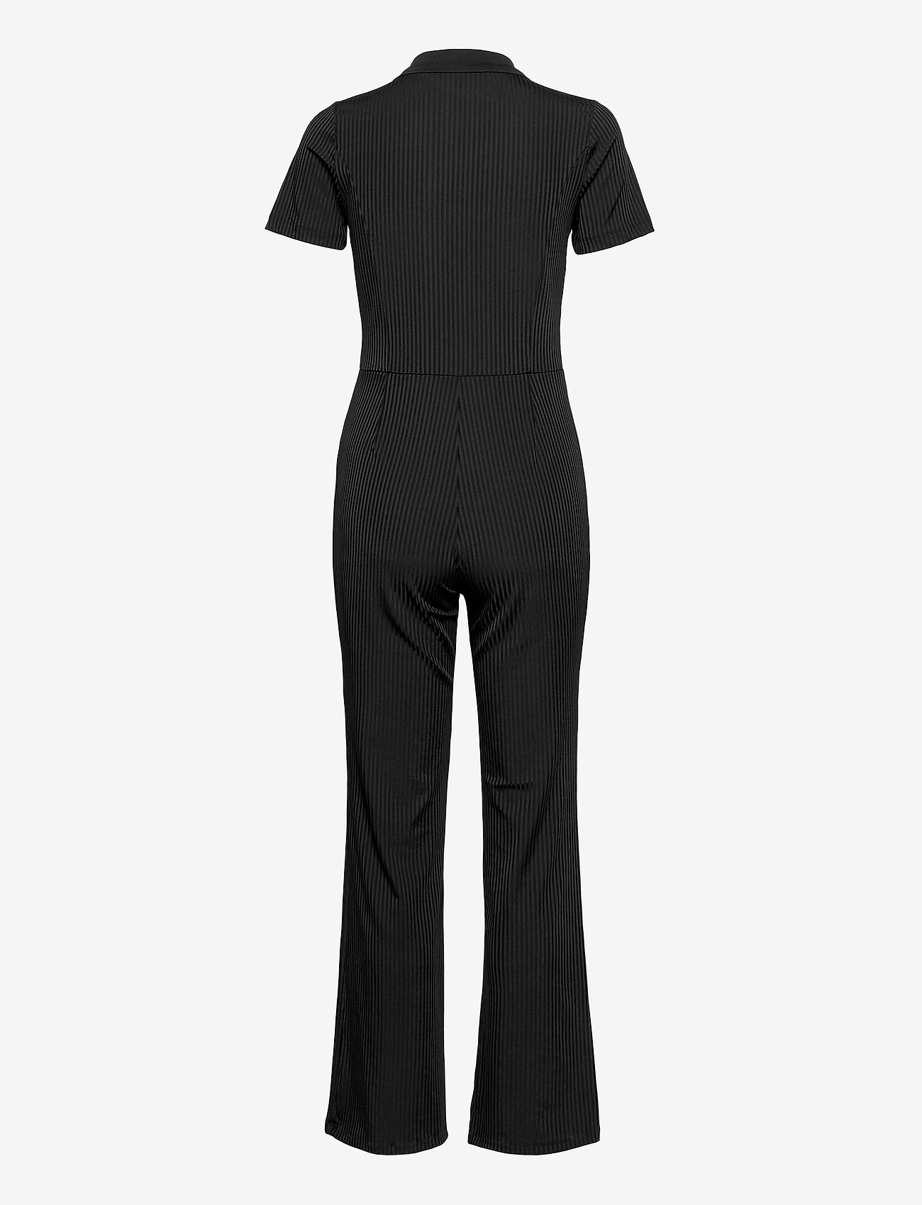 French Connection - SKARLETT RIBBED JERSEY JUMPST - jumpsuits - black - 1
