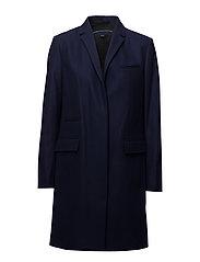 PLATFORM FELT SMART COAT - UTILITY BLUE