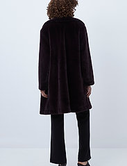 French Connection - PF BANNA FAUX FUR LONG COAT - faux fur - decadence - 3