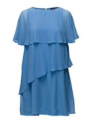 MIDSUMMER DREAM LAYERED DRESS - VISTA BLUE