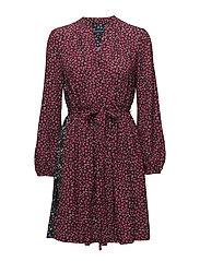 AUBINE FLUID SHORT SHIRT DRESS - MIMOSA MULTI