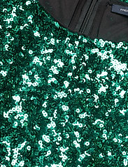 French Connection - CASSIA EMBELLISHED BELT DRESS - paljettkjoler - pepper green - 2