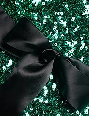 French Connection - CASSIA EMBELLISHED BELT DRESS - paljettkjoler - pepper green - 4