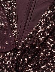 French Connection - EMILLE SPARKLE SHORT DRESS - paljettkjoler - decadence - 2