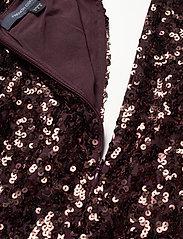 French Connection - EMILLE SPARKLE SHORT DRESS - paljettkjoler - decadence - 3