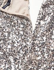 French Connection - EMILLE SPARKLE SHORT DRESS - paljettkjoler - silver/nude - 3